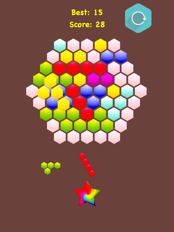 !Hexagonal Merge - Premium screenshot 9