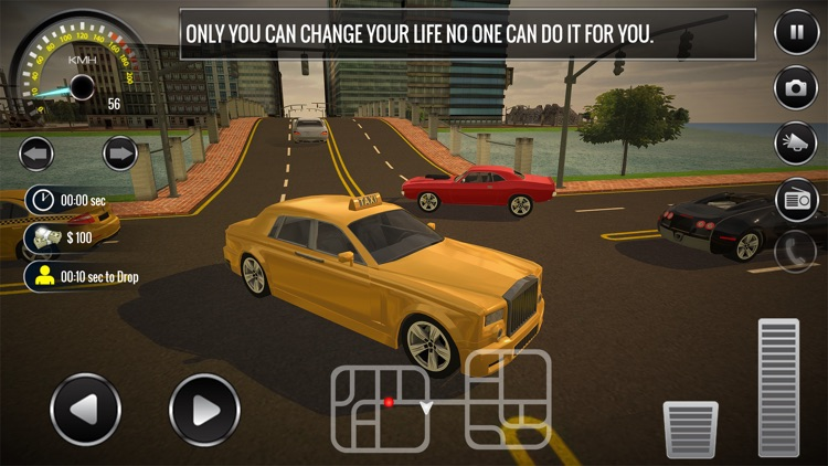 New York Taxi Driver 3d