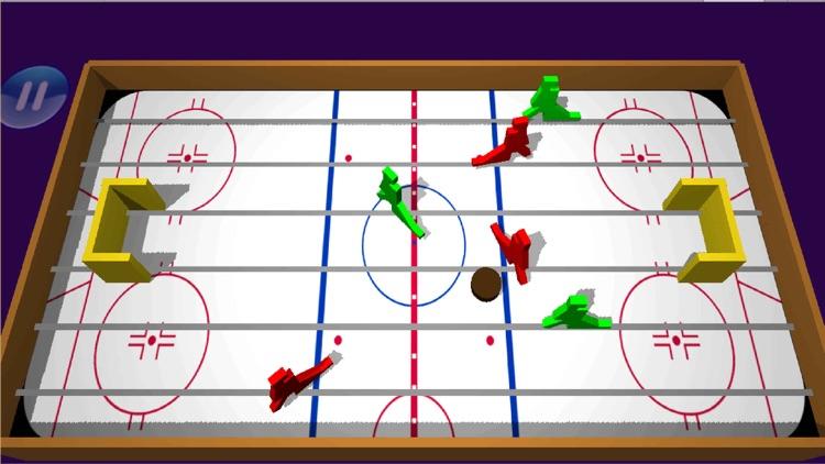 Table Ice Hockey 3D Pro screenshot-3