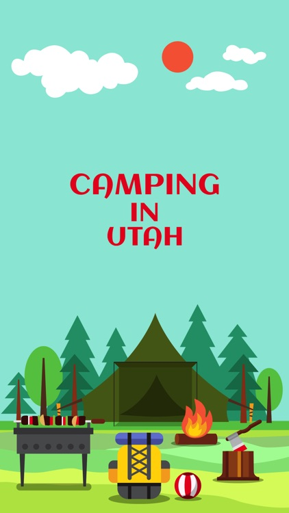 Camping in Utah screenshot-0