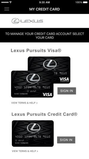 Lexus Card On The App Store