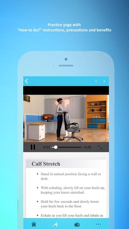 Office Yoga - Fitness Workouts screenshot-4