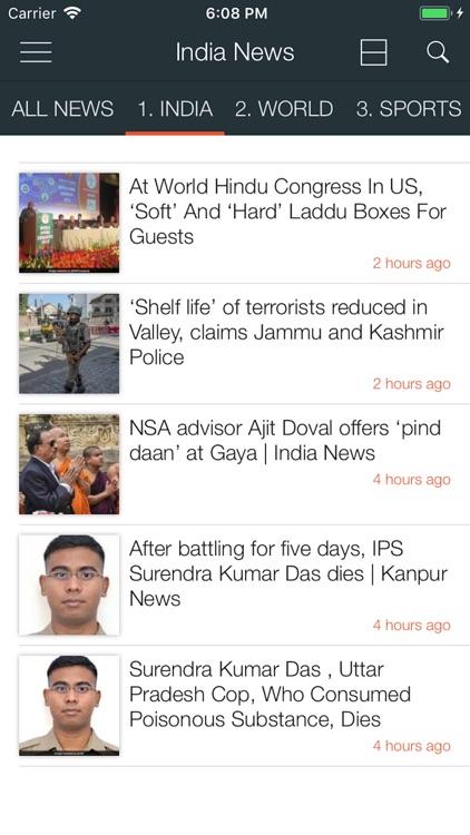 India News in English