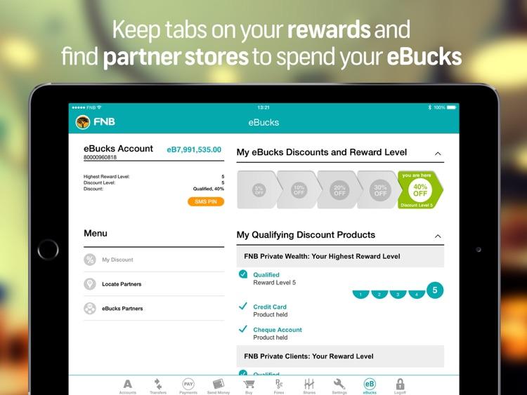 FNB Banking App for Tablet screenshot-3