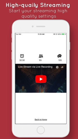Live stream apps & games Screenshot