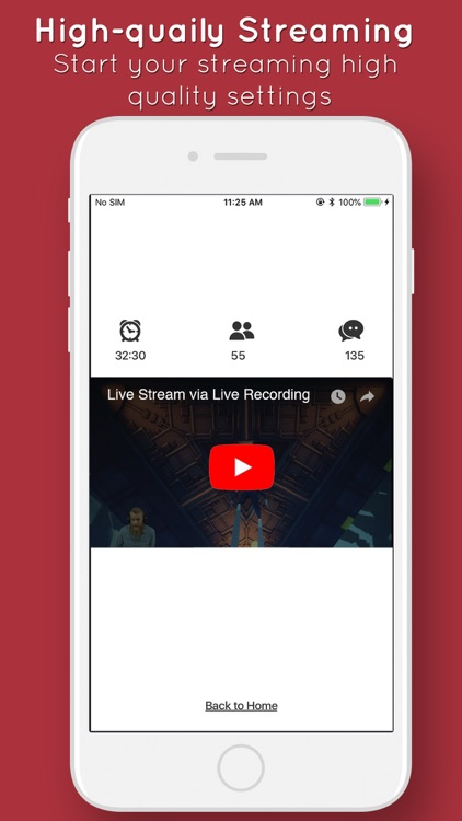 Live stream apps & games