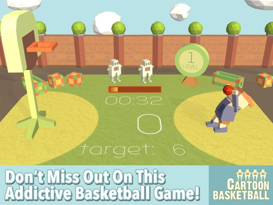 Cartoon Basketball Screenshots