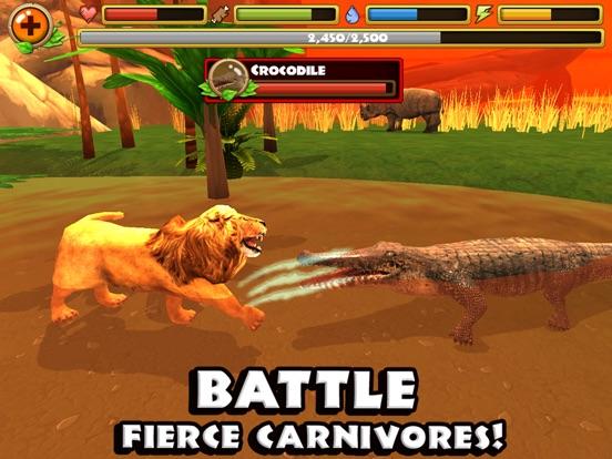Игра Safari Simulator: Lion