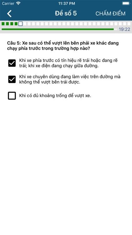 450 Câu hỏi ôn thi GPLX screenshot-3