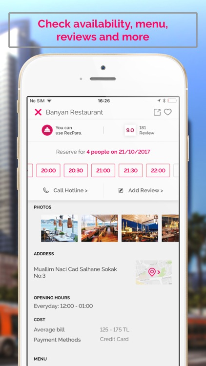 Reztoran: Restaurant Bookings