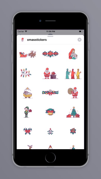 Screenshot for Christmas Art in United States App Store