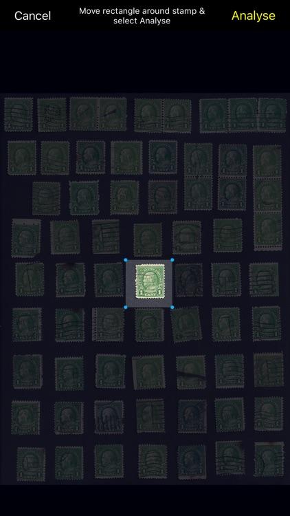 Stamp Analyser