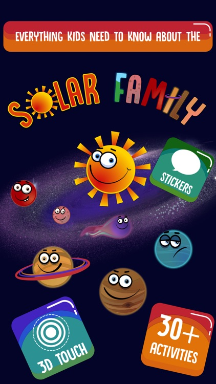 Solar Family by BubbleBud Kids screenshot-0