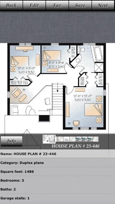 Duplex - House Plans   App Price Drops