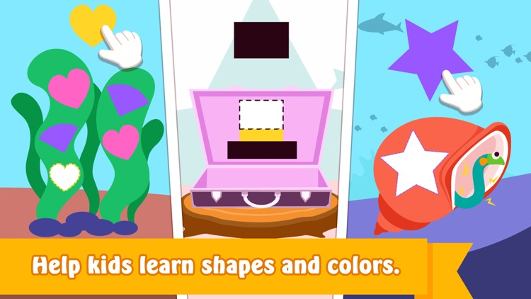 Purple Pink shapes and colors screenshot-3