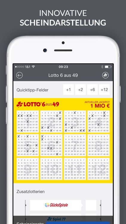 Lotto und EuroJackpot App screenshot-2