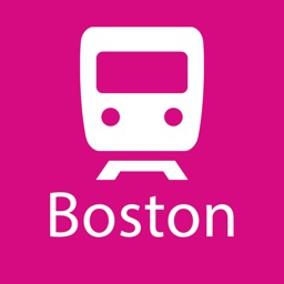 Boston Rail Map Lite
