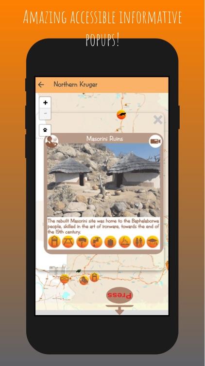 Kruger Map App screenshot-4
