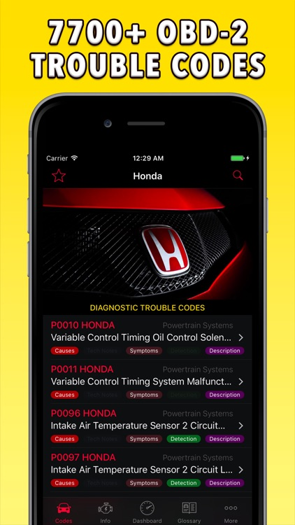 OBD-2 Honda screenshot-0