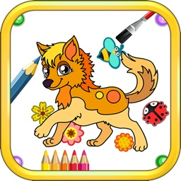 Animals Coloring Pages - Fun with Color & Draw