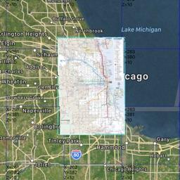Chicago Subway Bus Offline Map