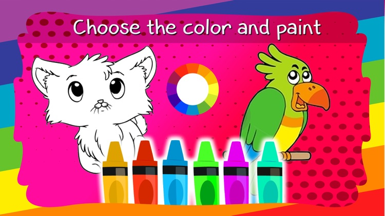 Coloring Book / Animals