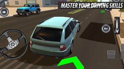 Real Driving City Sim Screenshot on iOS