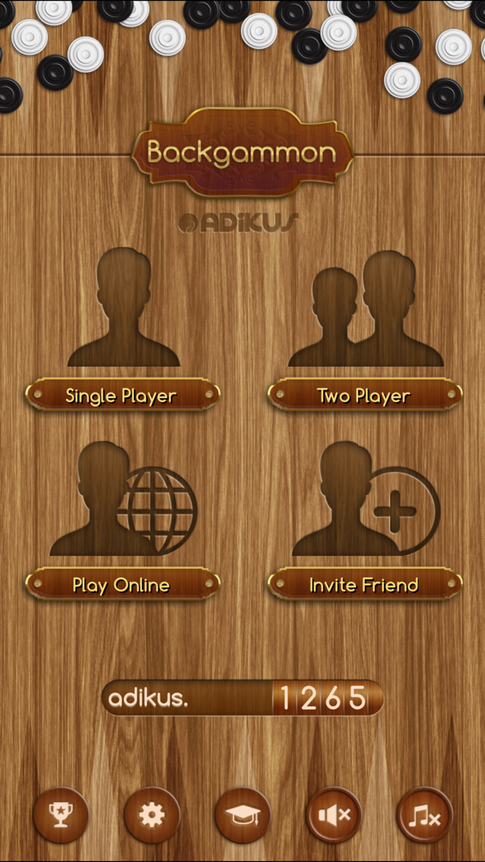 Backgammon+ Screenshot