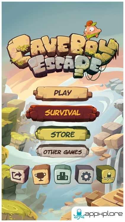 Caveboy Escape screenshot-0