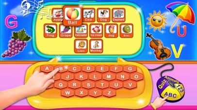 Alphabet Laptop - Educational screenshot 2