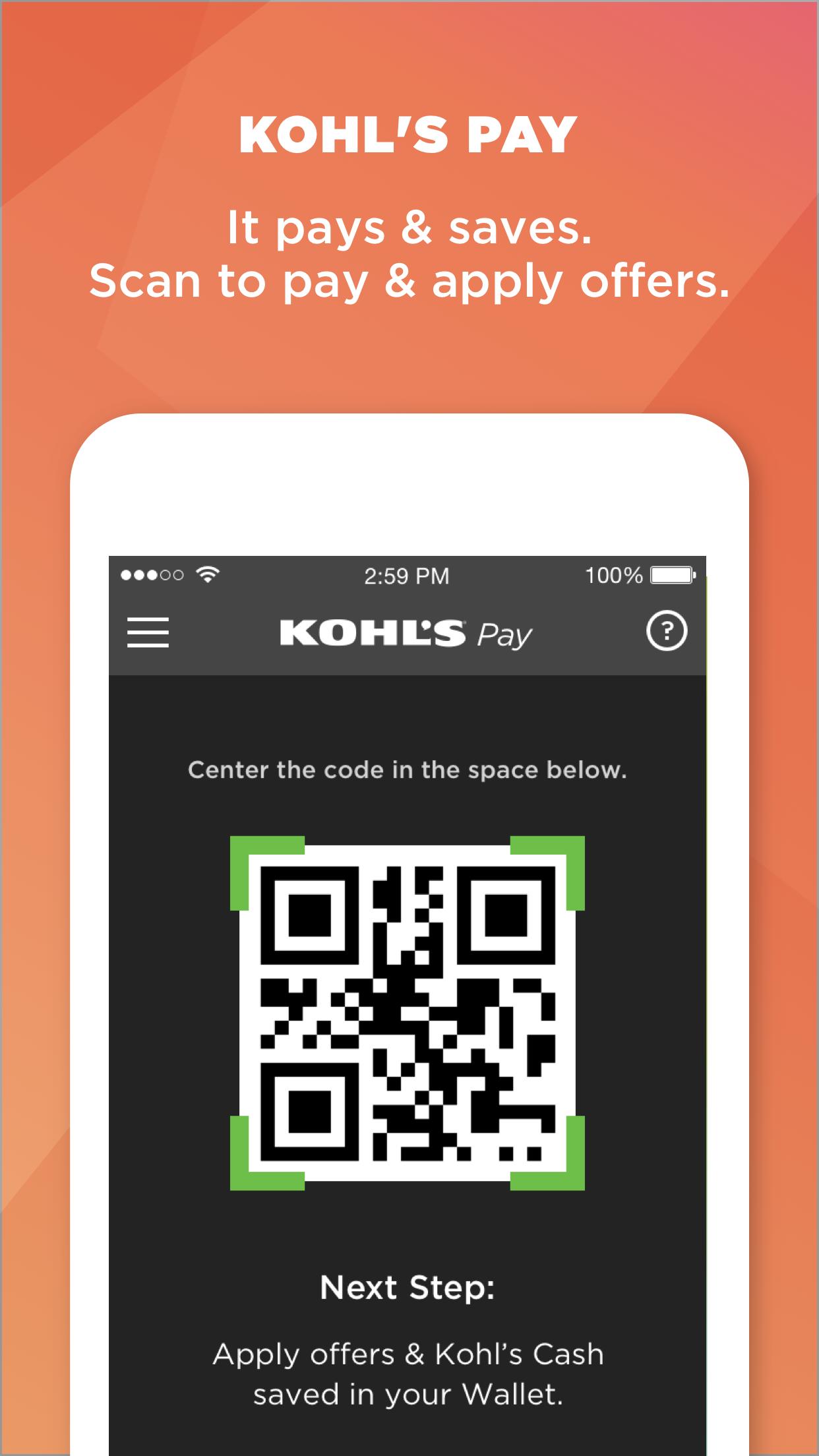 Kohl's: Scan, Shop, Pay & Save Screenshot