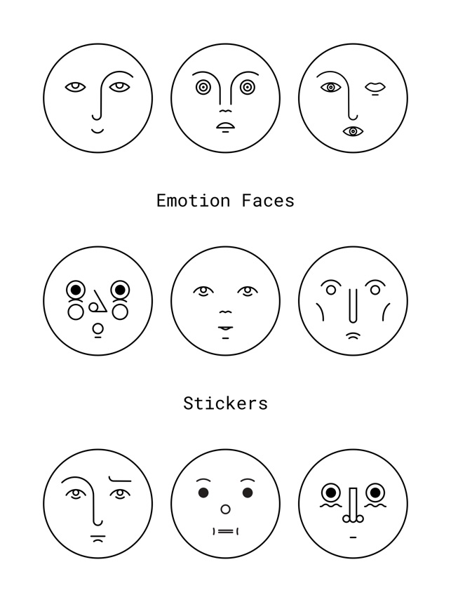 emotion faces on the app store