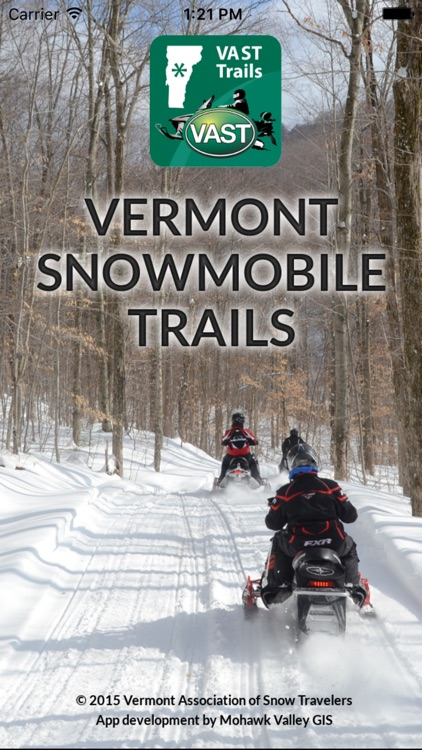 Vermont Snowmobile Trails