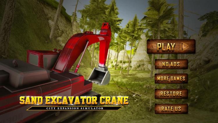 Sand Excavator Crane Simulator
