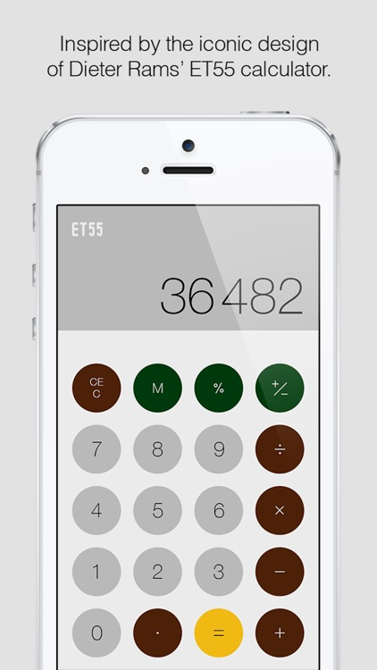 ET55: A Minimalist Calculator
