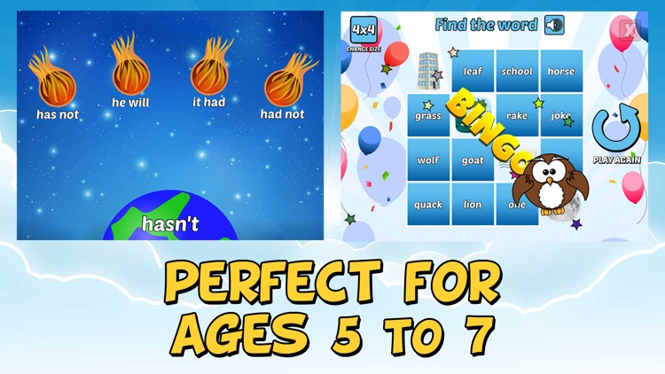 First Grade Learning Games screenshot-3