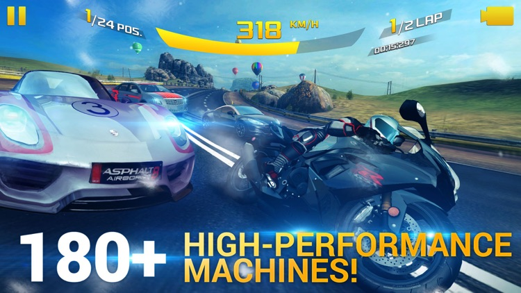 Asphalt 8: Airborne screenshot-1