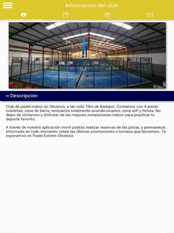 Padel Extrem Olivenza screenshot 6