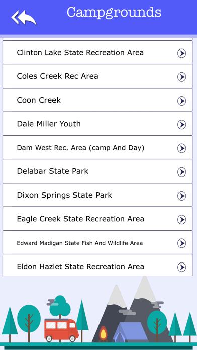 Illinois Camping & State Parks screenshot three