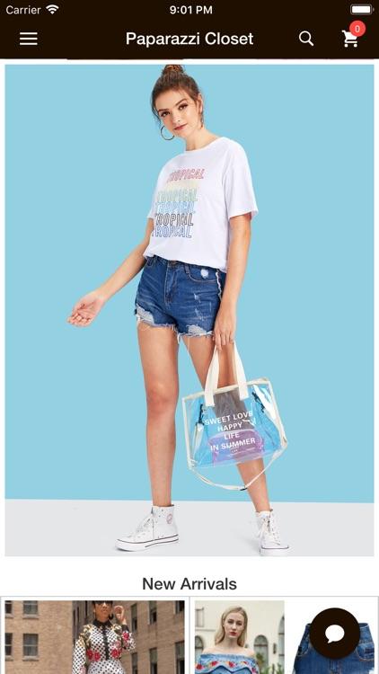 Paparazzi Closet E-Shopping