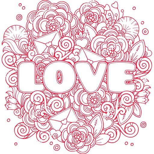 Love Doodle Sticker Pack