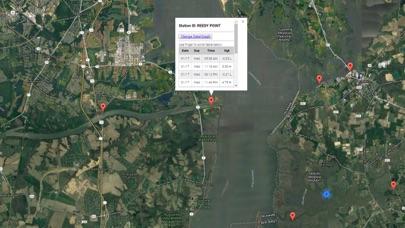 Delaware Tide Chart & Weather Screenshot