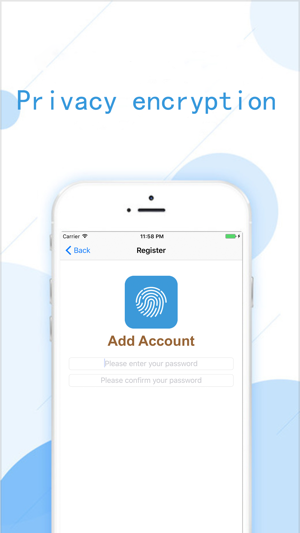 Fingerprint Album Screenshot