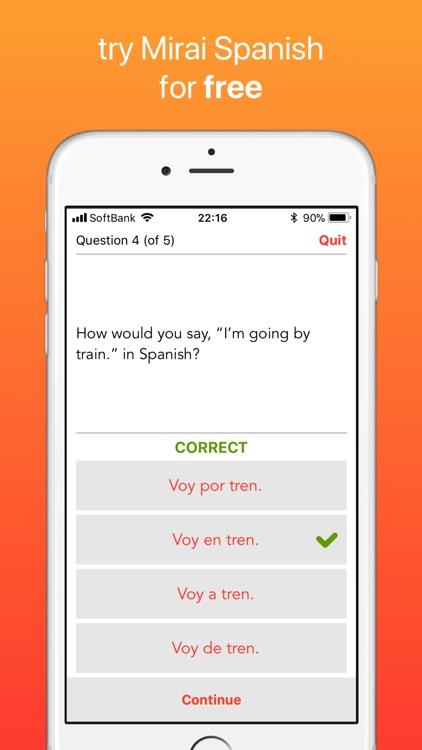 Mirai Spanish screenshot-4