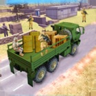 Us Offroad Army cargo truck icon