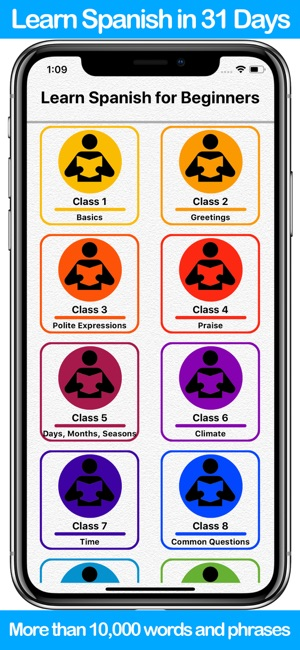 Learn spanish for beginners on the app store screenshots m4hsunfo