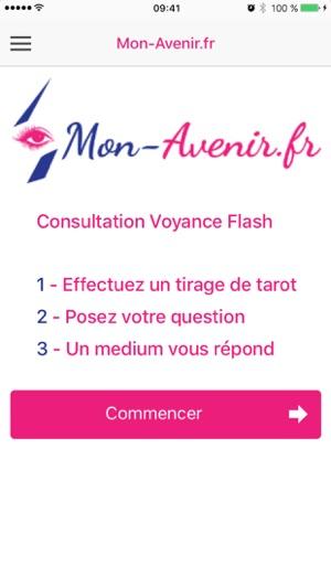 Voyance Tirage Tarot MonAvenir dans l App Store 8aff1b559d38