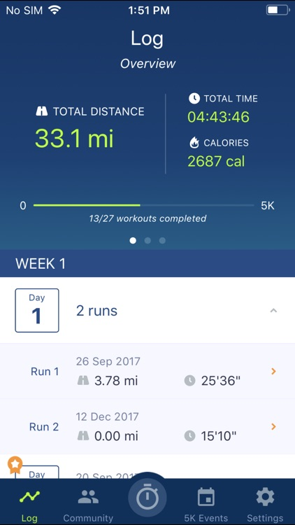 Couch to 5K® - Run training screenshot-3