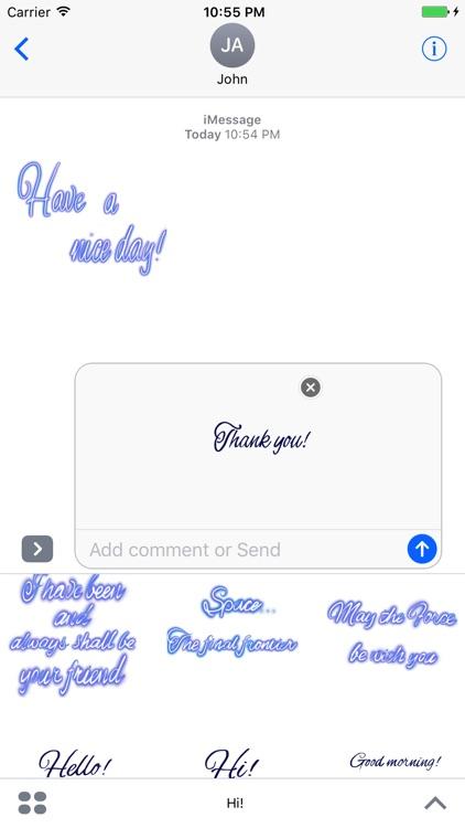 Hi! stickers screenshot-3