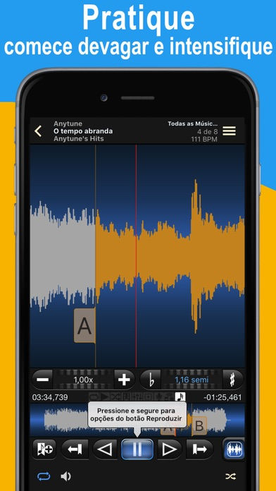 Screenshot for Anytune Pro+ in Portugal App Store